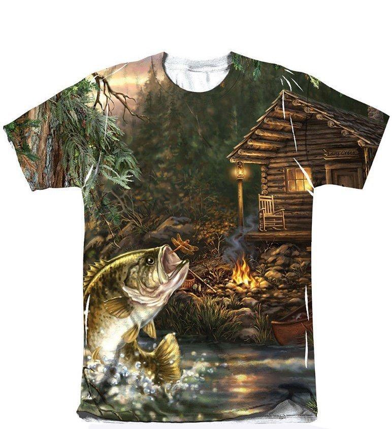 Custom full sublimation fishing shirts for Fishing logo t shirts