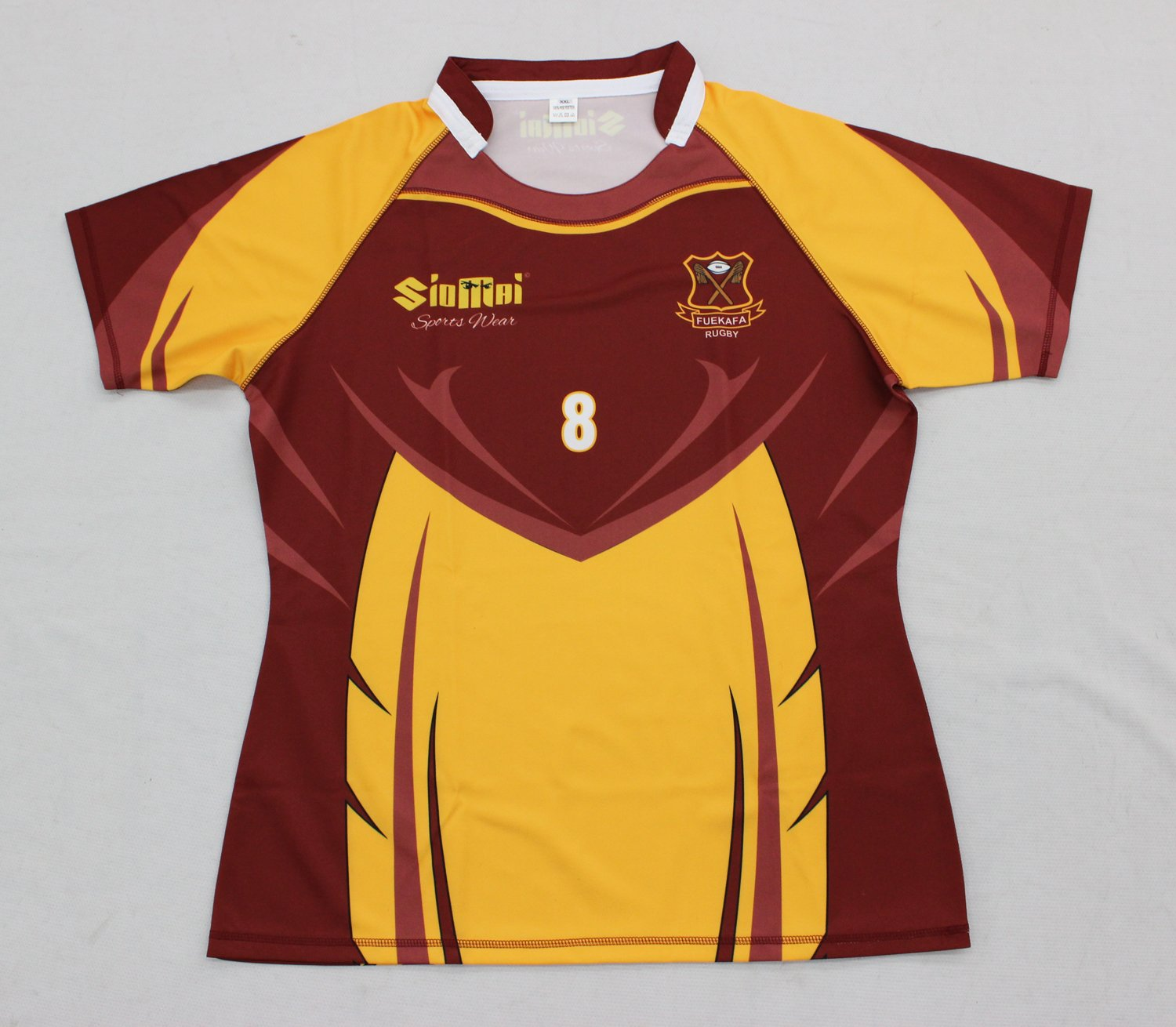 Custom Tight Fit Rugby Jersey